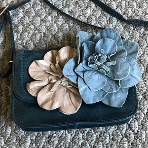 Banana Republic Small Leather Cowhide Shoulder Bag
